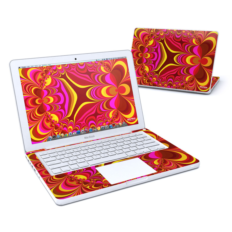Cyclotomic Contours MacBook 13-inch Skin