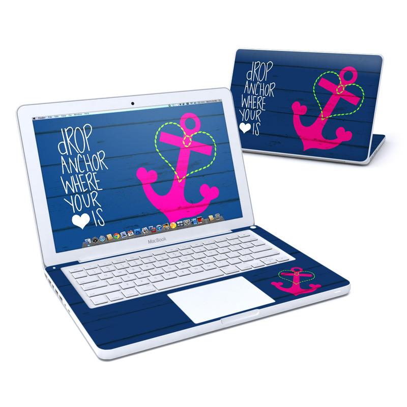Drop Anchor MacBook 13-inch Skin