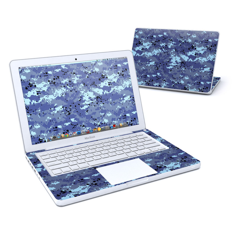 Digital Sky Camo MacBook 13-inch Skin