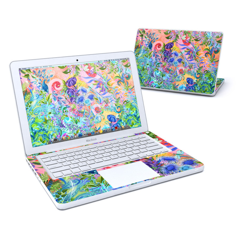 Fantasy Garden MacBook 13-inch Skin