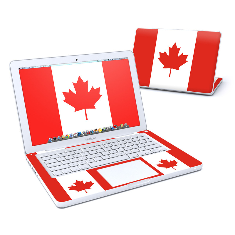 Canadian Flag MacBook 13-inch Skin