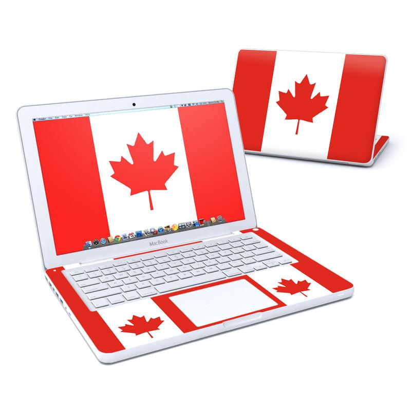 Canadian Flag MacBook 13-inch Skin