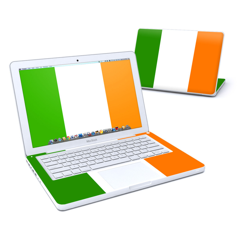 Irish Flag Old MacBook 13-inch Skin