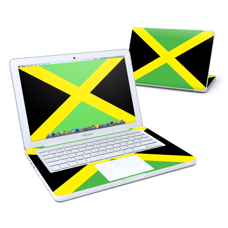 Jamaican Flag MacBook 13-inch Skin
