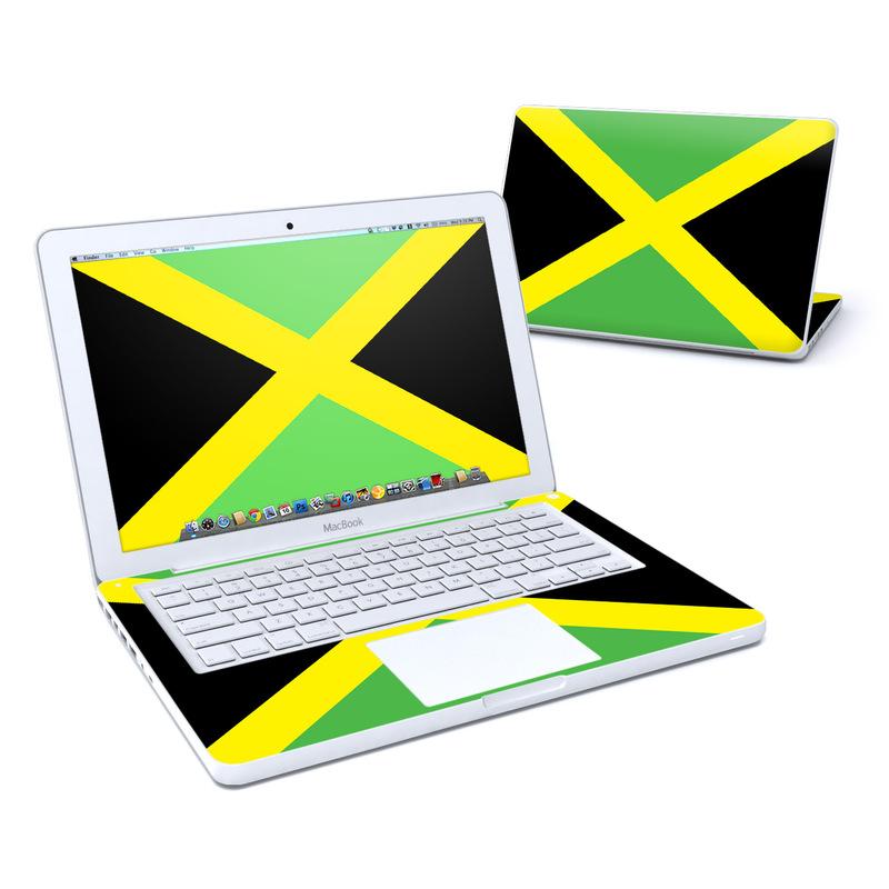 Jamaican Flag MacBook 13-inch Skin