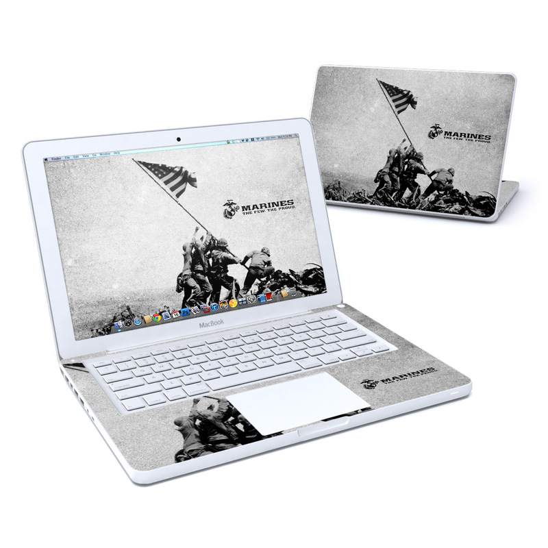 Flag Raise MacBook 13-inch Skin
