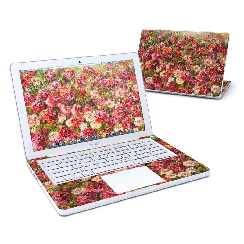 Fleurs Sauvages MacBook 13-inch Skin