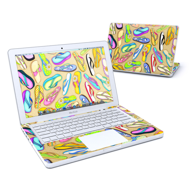 Flip Flops MacBook 13-inch Skin