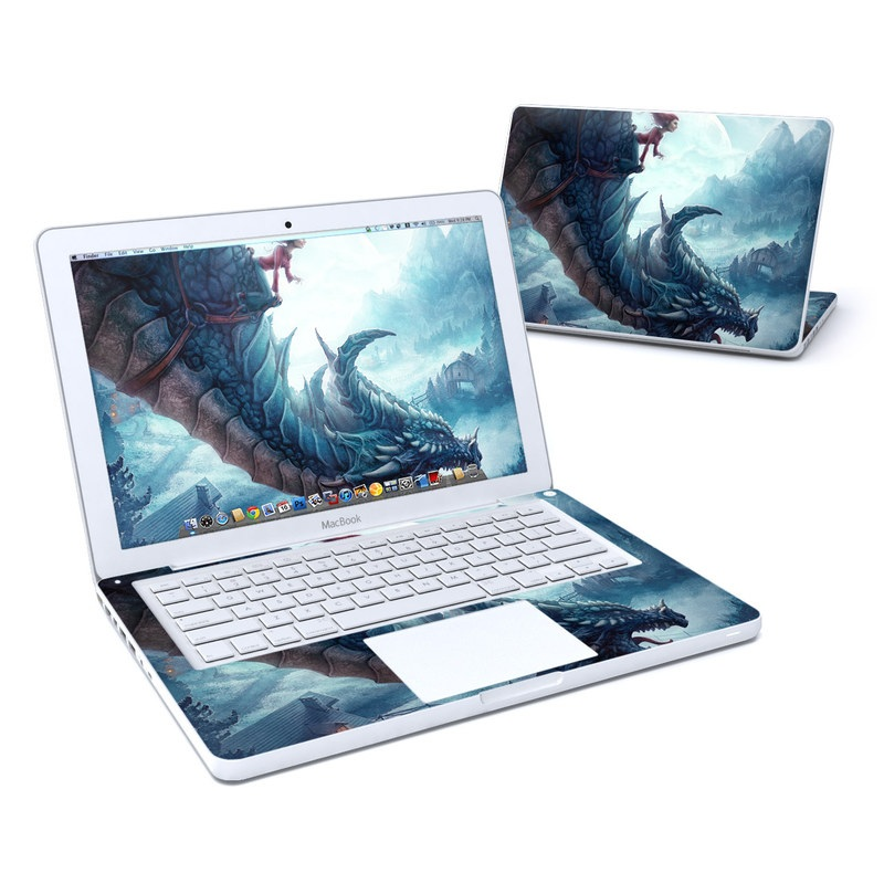 Flying Dragon Old MacBook 13-inch Skin