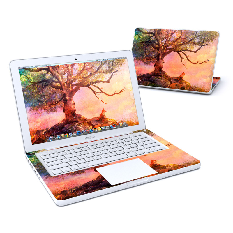 Fox Sunset Old MacBook 13-inch Skin