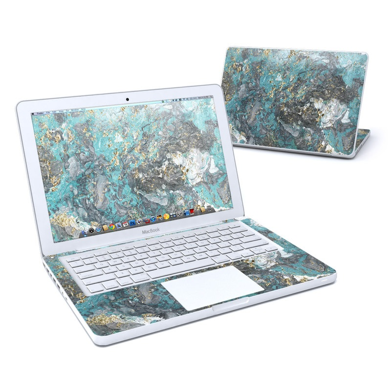 Gilded Glacier Marble Old MacBook 13-inch Skin