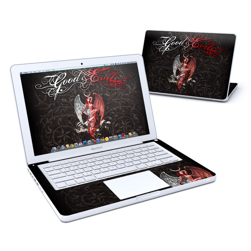 Good and Evil Old MacBook 13-inch Skin