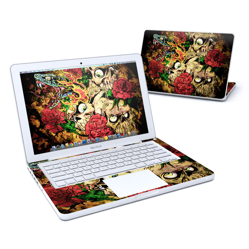 Gothic Tattoo MacBook 13-inch Skin