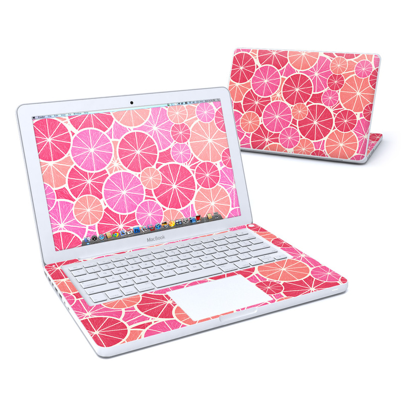 Grapefruit MacBook 13-inch Skin