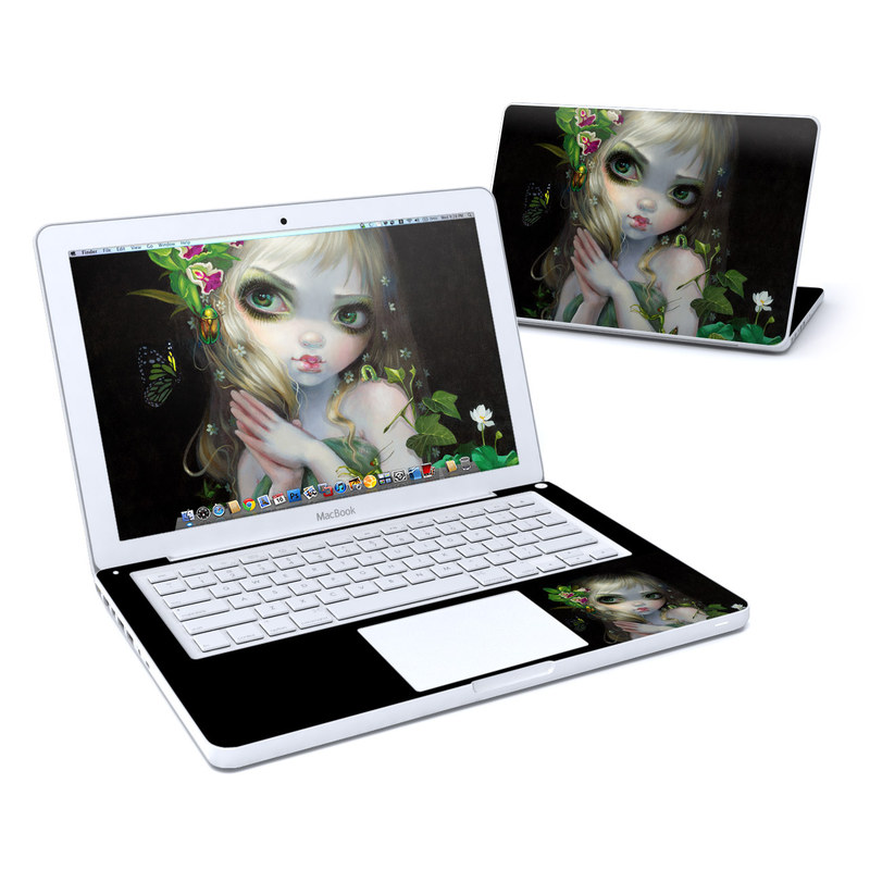 Green Goddess MacBook 13-inch Skin
