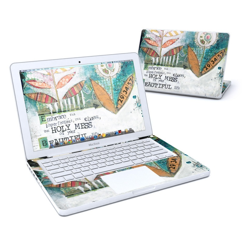 Holy Mess MacBook 13-inch Skin