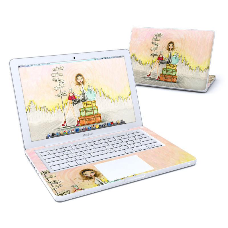 The Jet Setter MacBook 13-inch Skin