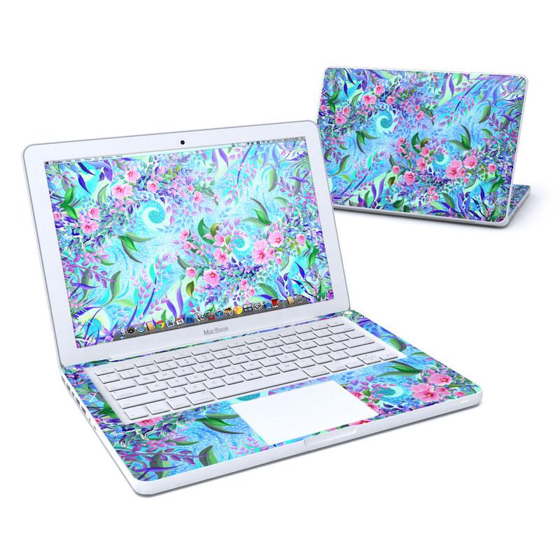 Lavender Flowers MacBook 13-inch Skin