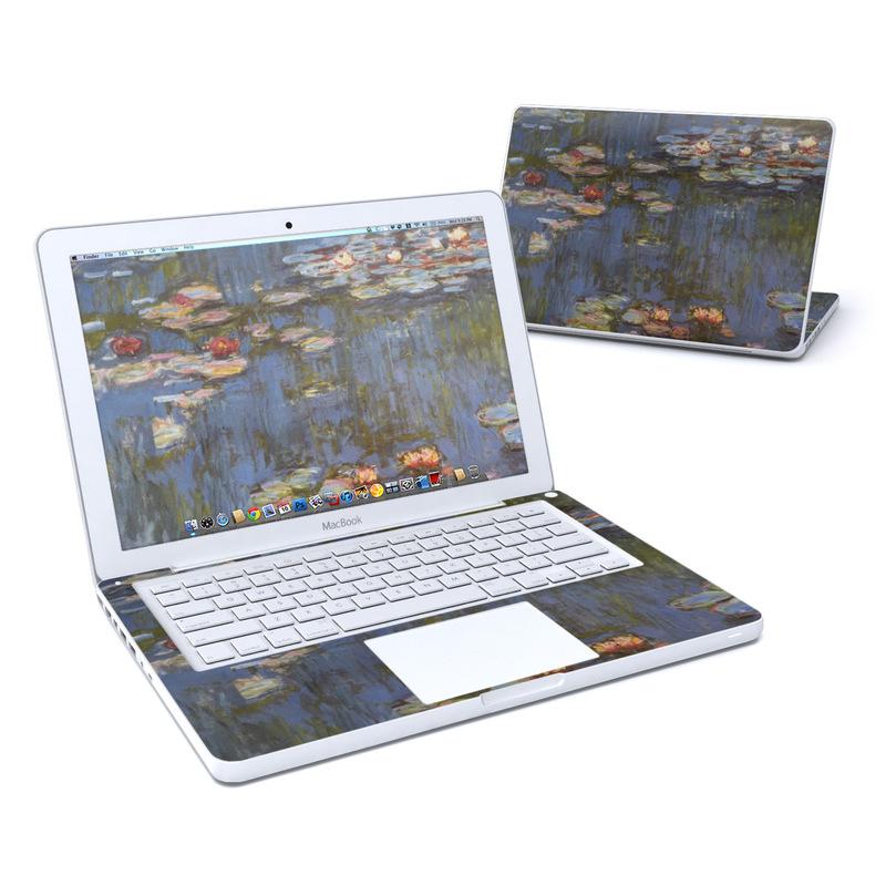 Water lilies MacBook 13-inch Skin