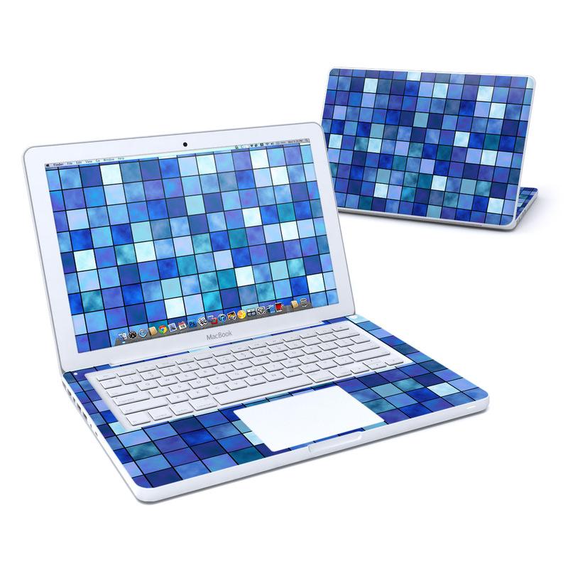 Blue Mosaic MacBook 13-inch Skin