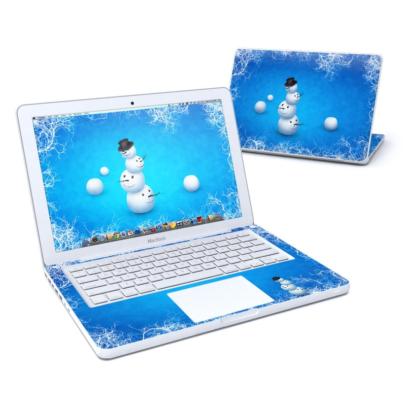 Merry Snowman Old MacBook 13-inch Skin