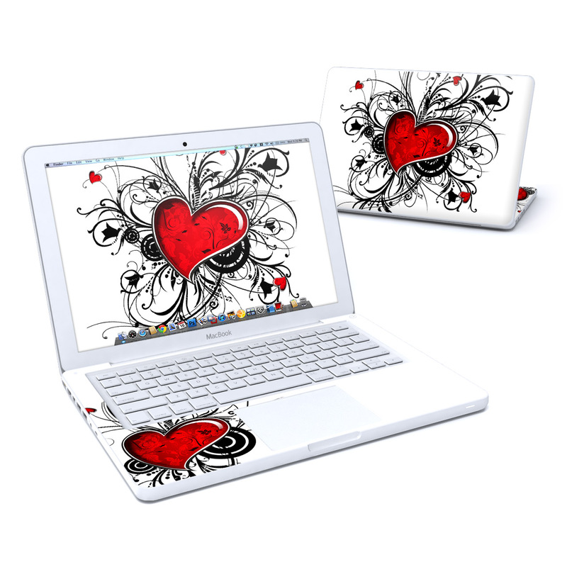 My Heart MacBook 13-inch Skin