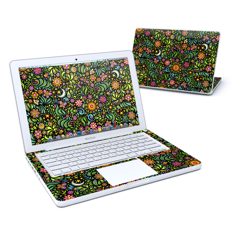 Nature Ditzy MacBook 13-inch Skin