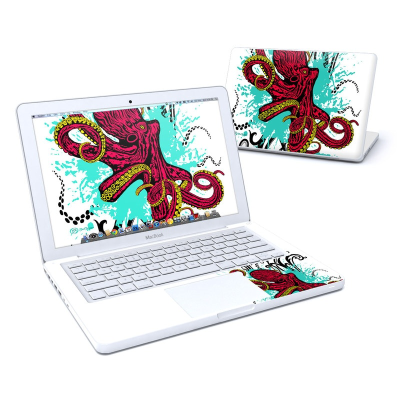 Octopus MacBook 13-inch Skin