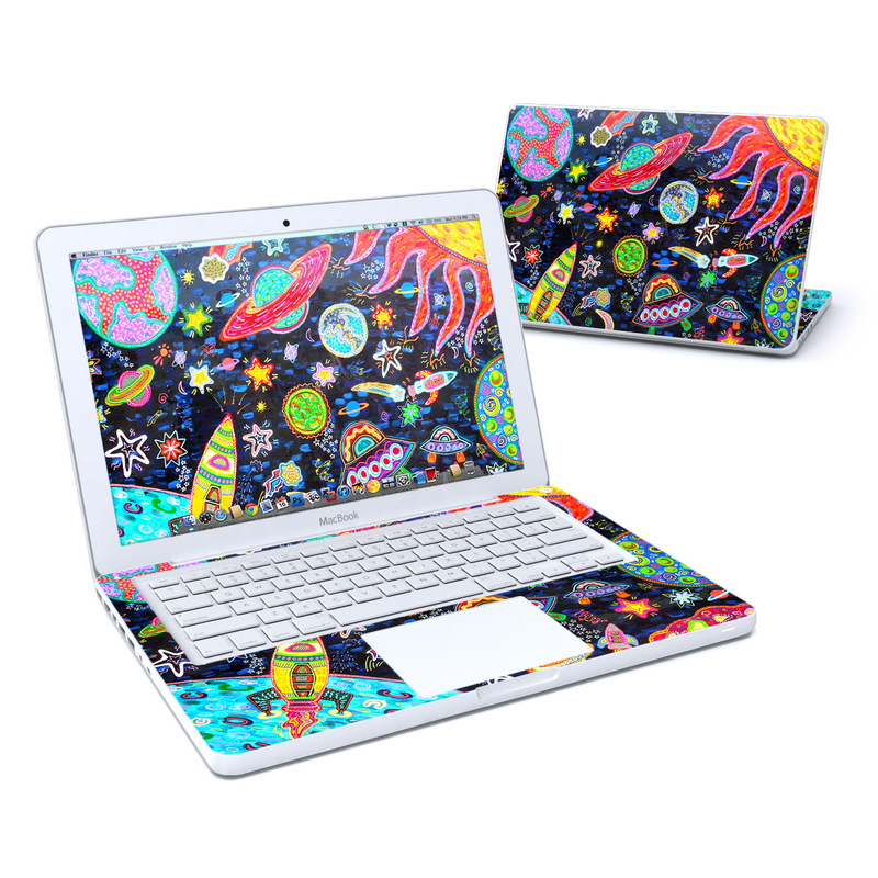 Out to Space Old MacBook 13-inch Skin