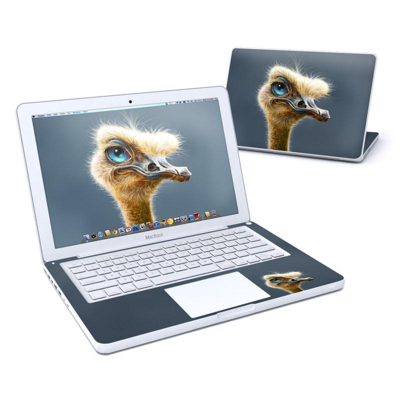 Ostrich Totem MacBook 13-inch Skin
