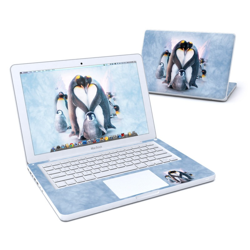 Penguin Heart MacBook 13-inch Skin