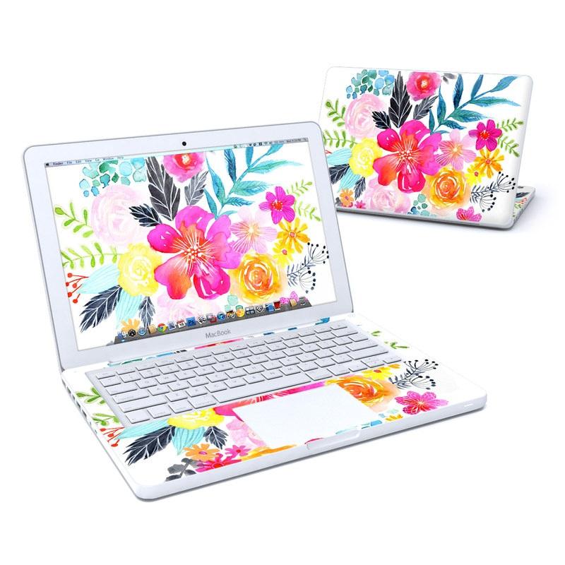 Pink Bouquet Old MacBook 13-inch Skin
