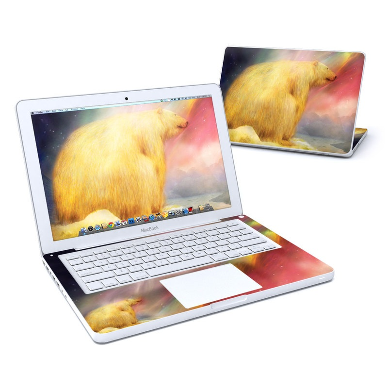 Polar Bear MacBook 13-inch Skin