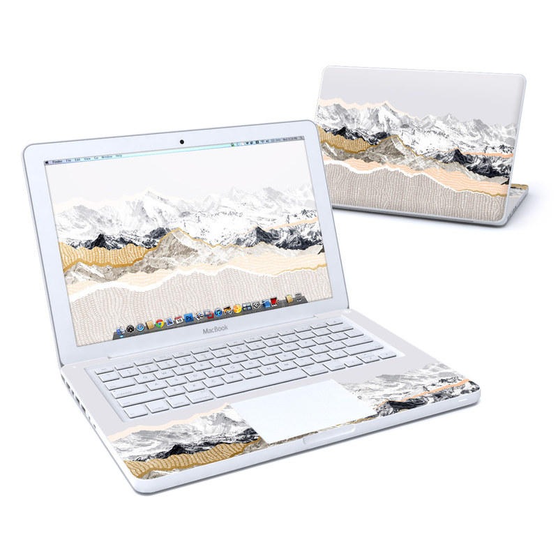 Pastel Mountains MacBook 13-inch Skin