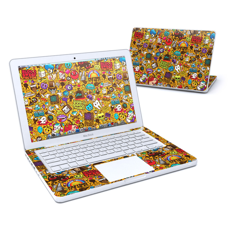 Psychedelic MacBook 13-inch Skin