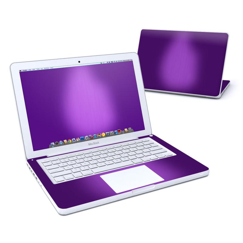Purple Burst MacBook 13-inch Skin