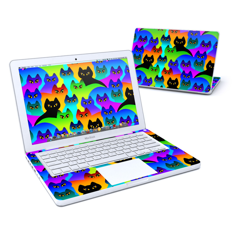 Rainbow Cats MacBook 13-inch Skin