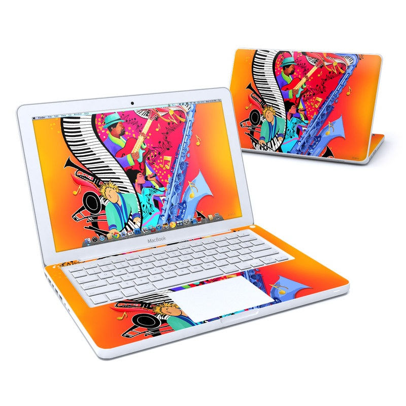 Red Hot Jazz Old MacBook 13-inch Skin