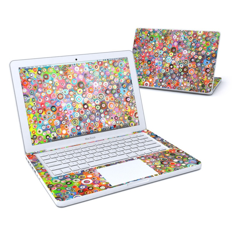 Round and Round MacBook 13-inch Skin