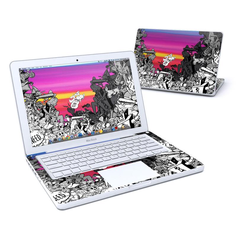 Robo Fight MacBook 13-inch Skin