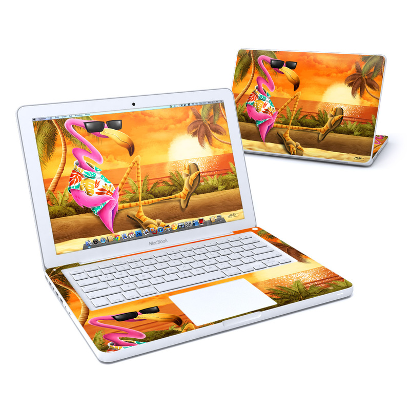 Sunset Flamingo Old MacBook 13-inch Skin