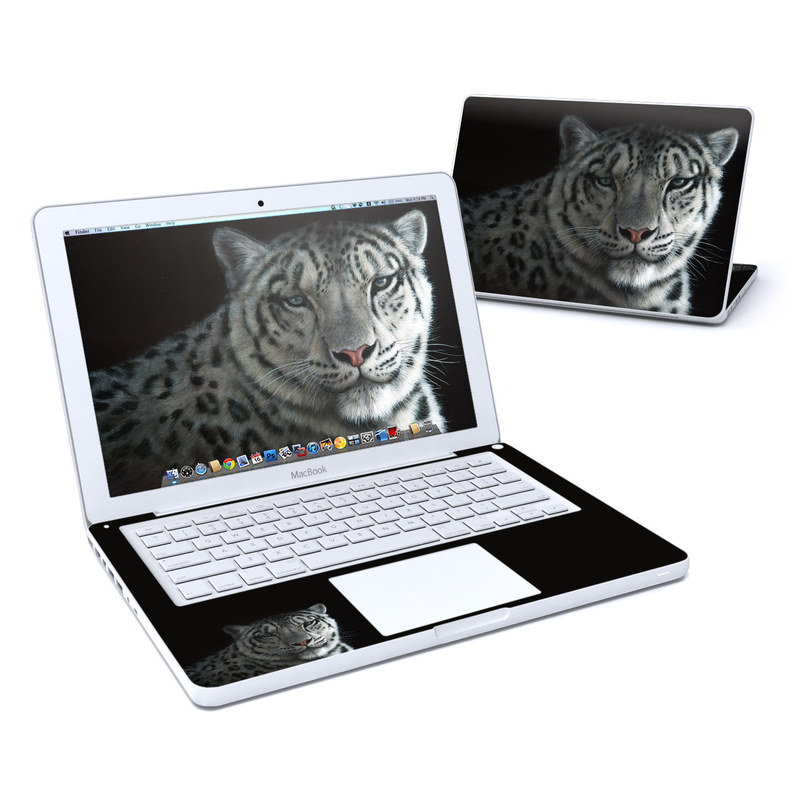 Silver Shadows MacBook 13-inch Skin