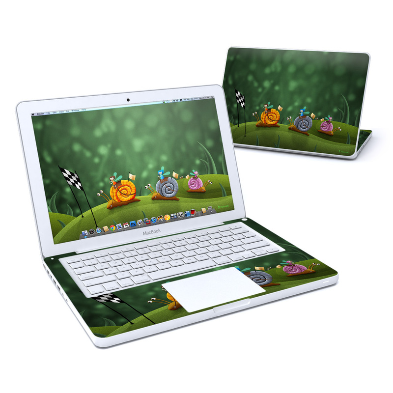 Snail Race MacBook 13-inch Skin