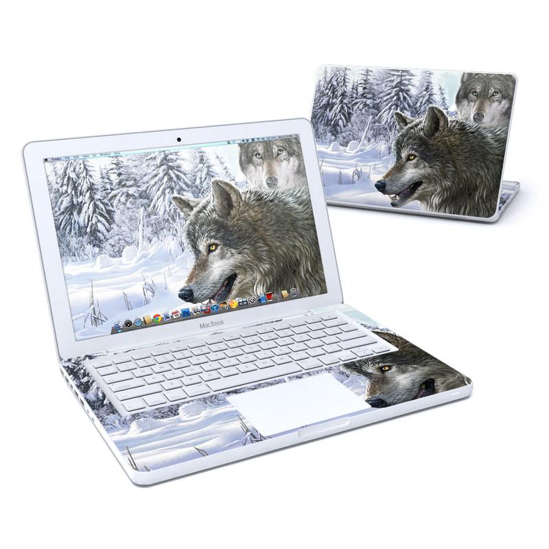 Snow Wolves Old MacBook 13-inch Skin