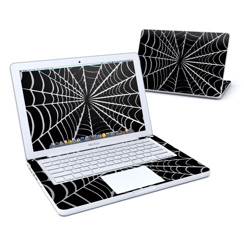 Spiderweb MacBook 13-inch Skin