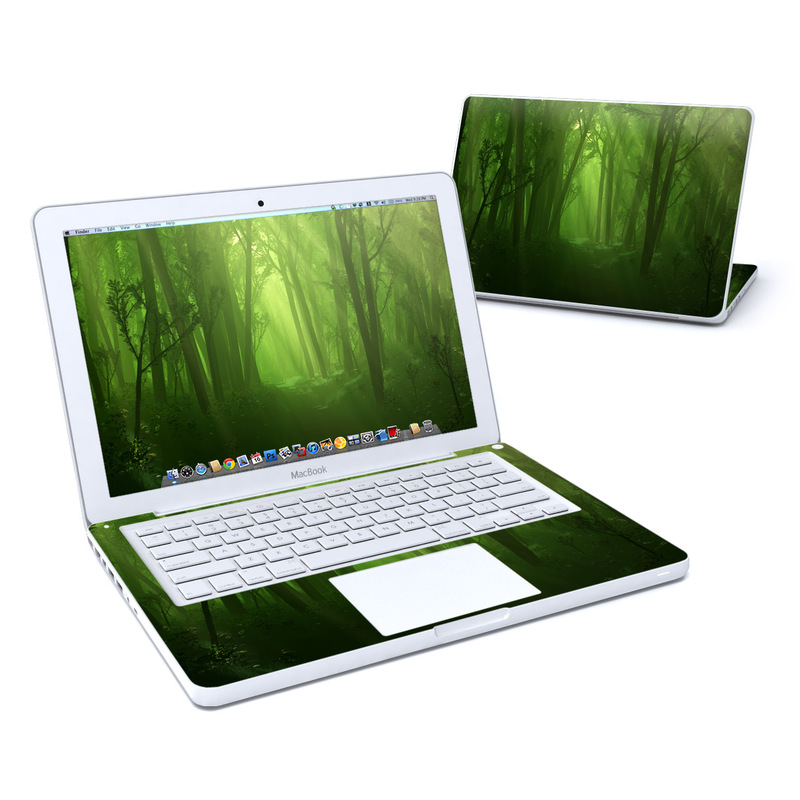 Spring Wood Old MacBook 13-inch Skin