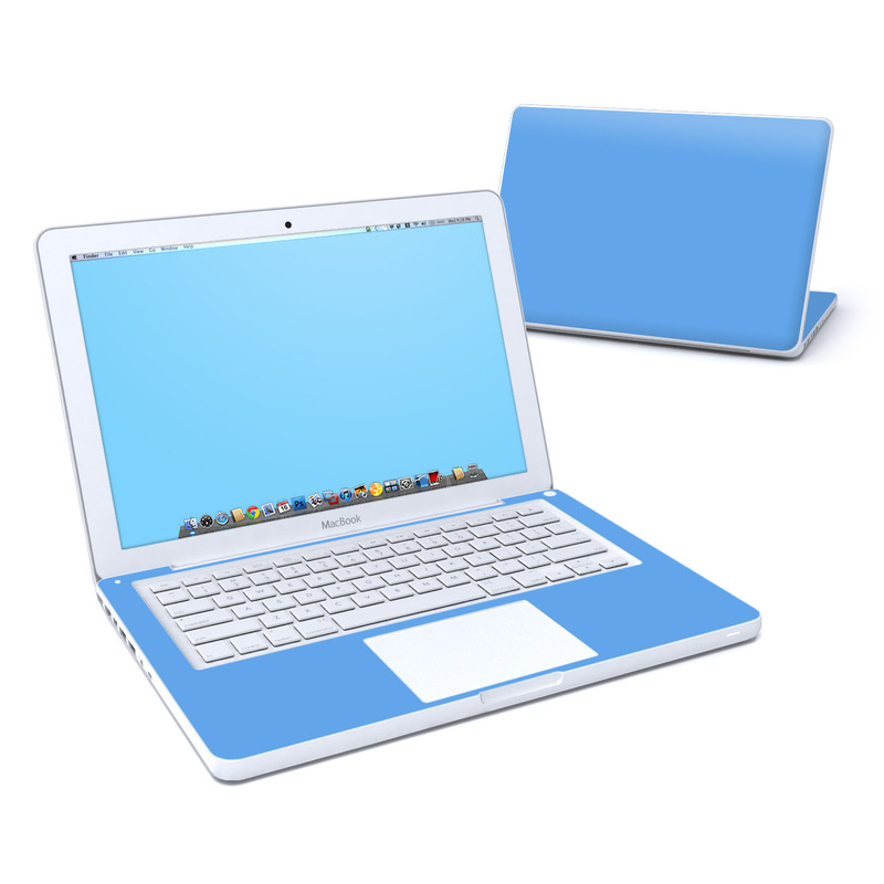 Solid State Blue Old MacBook 13-inch Skin