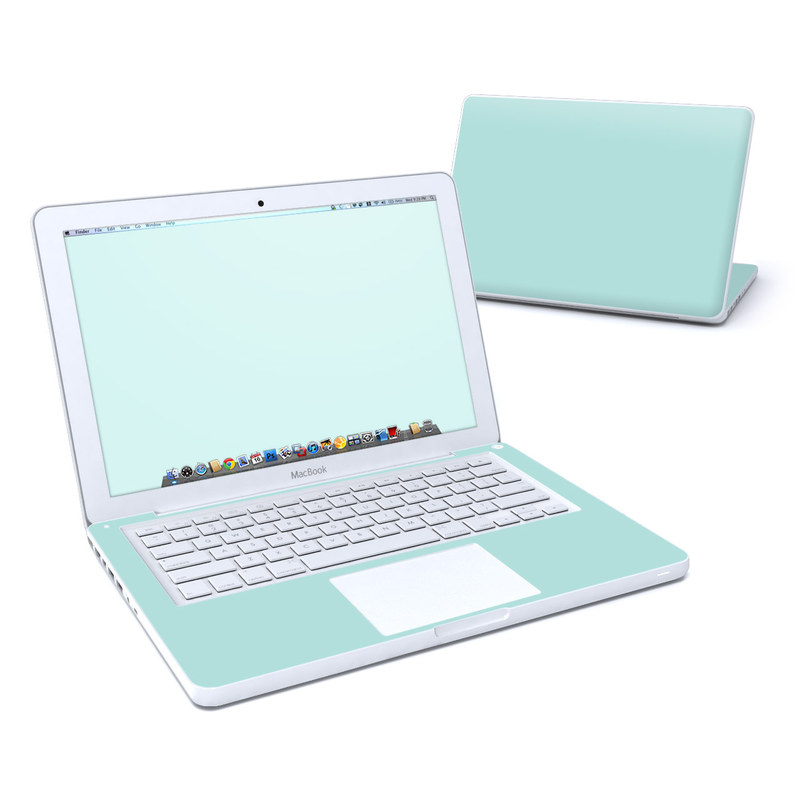 Solid State Mint MacBook 13-inch Skin