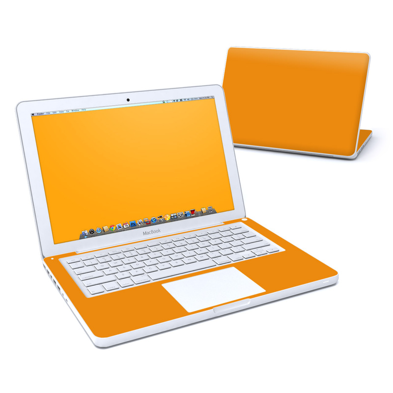 Solid State Orange Old MacBook 13-inch Skin