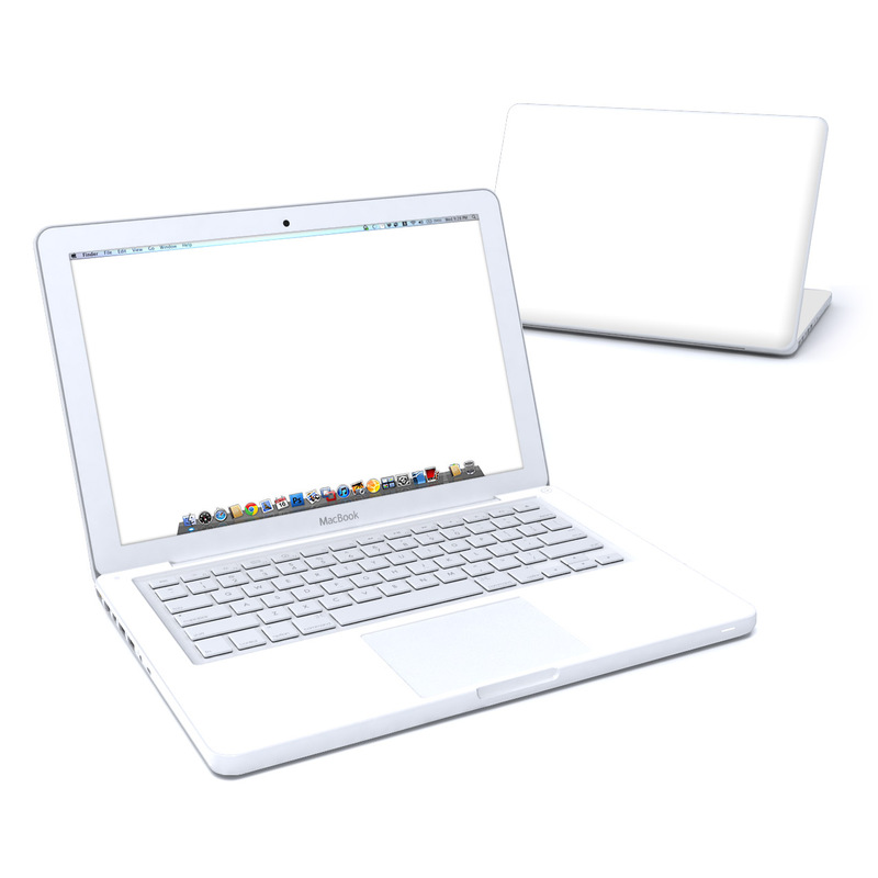 Solid State White MacBook 13-inch Skin